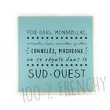 Dessous de plat et plateaux made in France en bois gravés ou imprimés, sous verres humoristiques et décoratifs en bois fabriqués en France, cadeaux pour la maison