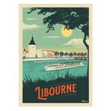 Affiches et posters illustrés représentant les plus beaux paysages de France